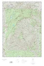Raven Maps Mytopo Grandfather Mountain North Carolina Usgs Quad Topo Map