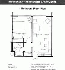 Small Loft Apartment Floor Plan by Charming One Bedroom Apartments Floor Plans As Planning Studio