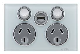 clipsal usb charger mechanism and usb power points clipsal by