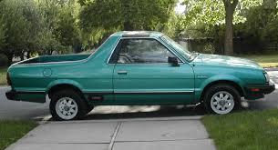subaru truck subaru brat 1985 cartype