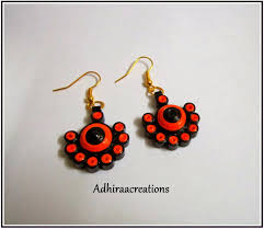 quilling earrings set adhiraacreations quilling earring designs