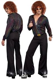 Starsky And Hutch Costume Mens Disco Pants Ebay