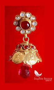 best gift for wife 2017 jm12 daphne pink drop jhumki earrings wedding gift for wife