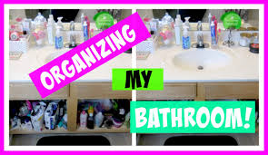 How To Organize Under Your Bathroom Sink - quick organize with me how to organize your bathroom sink youtube