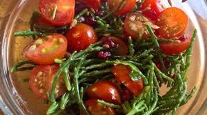 cuisiner salicorne salade de salicornes recette par regnier