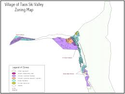 New Mexico Ski Resorts Map by Maps The Village Of Taos Ski Valley Providing Infrastructure