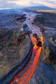 Hawaii Lava Flow Map Mānoa Study Explains The Connection Between Hawaii U0027s Dueling