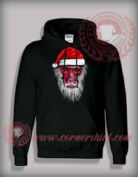 funny christmas gifts for friends monkey king santa hoodie