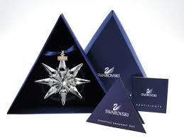 swarovski 2009 annual limited edition ornament mint in