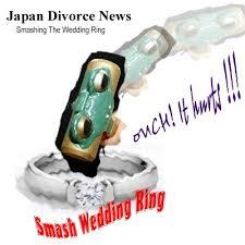 wedding ring japan japanese smash wedding rings japan divorce symbolic gesture