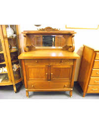 fall savings on antique empire tiger oak buffet sideboard server