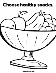 healthy foods coloring pages coloring pages ideas