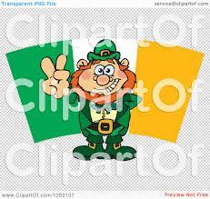 royalty free vector clip art illustration of a leprechaun