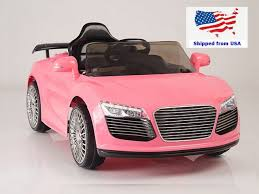 pink audi audi kids car electric u0026 ride on car for kids from kids vip canada