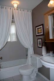 ideas for bathroom curtains bathroom white bathroom decor with large fabric shower