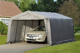 garage for cars amazon com shelterlogic garage in a box sports u0026 outdoors
