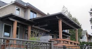 Roofing For Pergola by Traditional Style Louvered Roof System With Fascia Gutter Alrs