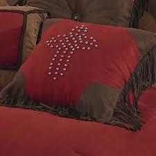 Maroon Comforter Red Rodeo Western Comforter Bed Set