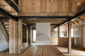 Restored Barns Italian Alps Barn Renovated Into A Solar Powered Contemporary