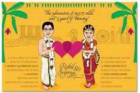 indian wedding invitation caricatures the way to send a personalized wedding