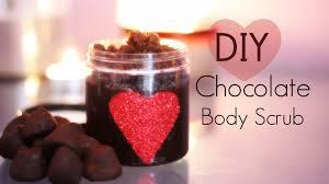 diy valentine u0027s day gift chocolate body scrub youtube