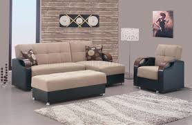 Soho Sectional Sofa Soho Sectional Sofa In Beige Chenille Fabric By W Options