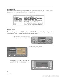 bmw 3 series 2003 e46 mk3 navigation system manual