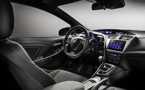 honda civic 2017 interior honda reveals new hatchback civic 2017 in paris auto show