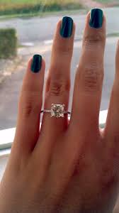square engagement rings with band best 25 cushion cut engagement rings ideas on