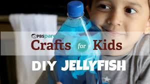 jellyfish in a bottle science crafts for kids pbs parents