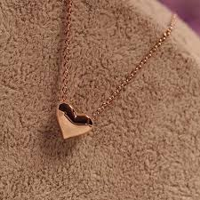 heart necklace wholesale images Hot heart pendant charm necklace chain jewelry wholesale buy jpg