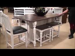 Kitchen Island Country Bourbon Country Kitchen Island Dining Set By Designs