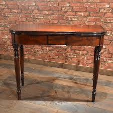 antique tea tables for sale antique english regency fold over tea table c 1820 mahogany