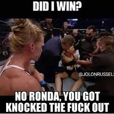 Get The Fuck Out Meme - you got knocked the fuck out mma photo