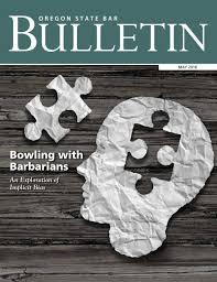 oregon state bar bulletin magazine