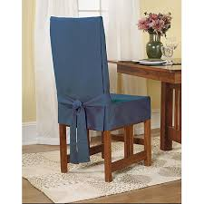 sure fit dining chair slipcovers sure fit cotton duck shorty dining chair slipcover walmart com