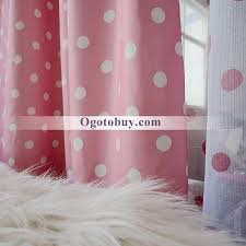 White With Pink Polka Dot Curtains Fancy Pink And White Bedroom Kids Curtains Of Dots Buy Pink Print