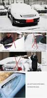lexus rx300 ect snow button winter magnetic half size car cover windshield peva car windscreen