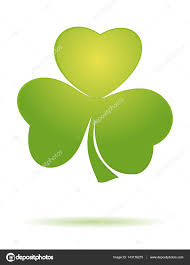 shamrock clover trifoliate clover vector clover icon green leaf