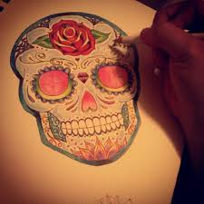 history and meaning of sugar skull tattoos