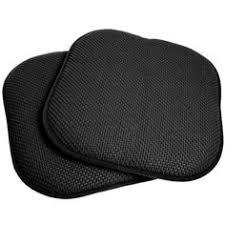 Memory Foam Dining Chair Cushion 16x16 Memory Foam Chair Pad Seat Cushion With Non Slip Backing 2