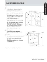 Kitchen Cabinets Specifications Cabinet Construction Details Marsh And Mid Continent Cabinetry