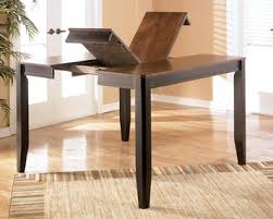 counter height table with butterfly leaf alonzo counter height rect butterfly leaf leg table dining set by