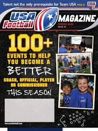 usa football magazine issue 9 spring 2009 quarterback american