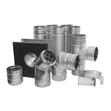 duravent pelletvent 3 in stove pipe kit 3pvl kha the home depot