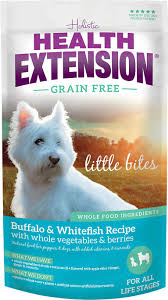 health extension grain free little bites buffalo u0026 whitefish