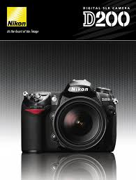 nikon digital camera d200 user guide manualsonline com