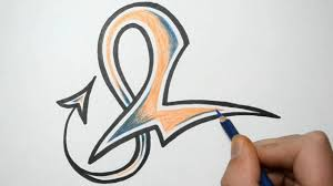 how to draw alphabet letters in graffiti l youtube