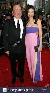 rupert murdoch and his wife wendi deng time u0027s 100 most influential