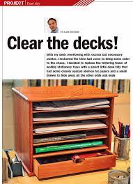 wooden desk tidy plans u2022 woodarchivist